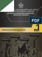 DESCRIPCION Y FUNCIONAMIENTO DEL MOTOR DE COMBUSTION INTERNA A GASOLINA (SISTEMAS DE ALIMENTACION, REFRIGERACION, LUBRICACION, ENCENDIDO)