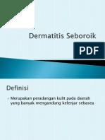 Dermatitis Seboroik ppt