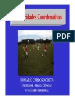 Romario Cardoso - Capacidades Coordenativas