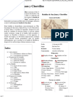 Batalla de San Juan y Chorrillos - Wikipedia, La Enciclopedia Libre