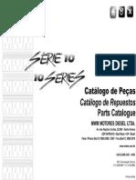 Catálogo de Peças Do Motor MWM 10
