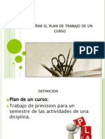 Diseñar El Plan de Trabajo de Un Curso (1)
