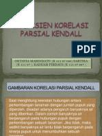 Korelasi Parsial Kendall