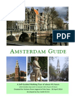 Amsterdam 1-Walking Tour With Stops 4 to 5 Hours
