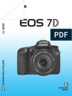 Canon EOS 7D Manual