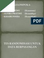 Randomisasi Data b'Pasangan