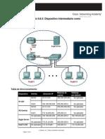 Práctica de Laboratorio 9.8.3 Dispositivo Intermediario Como Dispositivo Final