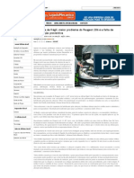 Peugeot 206 e a Manutenção Preventiva