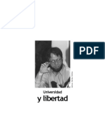 Antanas Mockus - Universidad Y Libertad