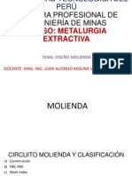 Clase 6 Cálculo y Diseño de Sección Molienda
