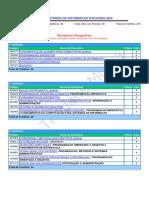 171.1 - Sistemas de Informação Bacharelado