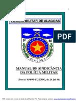 Manual de Sindicancia Da PMAL
