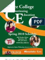 CE Spring 2010