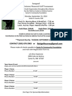 Fidel Gutierrez Tournament Entry Form