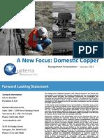 Quaterra Resources Powerpoint Presentation