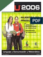 23 Ensayo PSU Lenguaje DEMRE 2006