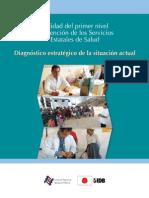 Calidad Del Primer Nivel de Atención de Los Ervicios Estatles de Salud_Diagnóstico Estrategico de La Situacion Actual