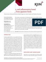 Diet, microbiota, and inflammatory bowel disease