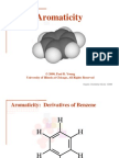 Aromaticity and Benzene
