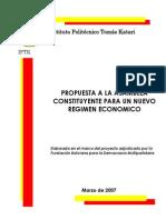 Libro Régimen Económico