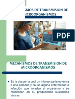 Mecanismos de Transmision, Infecciones Nosocomiales, Normas, Tipos de Aislamiento