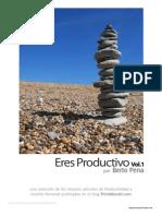 Eres Productivo (Vol 1)