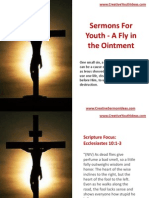 Sermons for Youth - A Fly in the Ointment