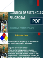 Control Sustancias Peligrosas