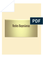 Redes Bayesianas 2012