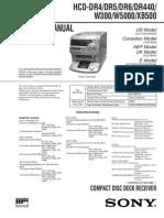 HCD-DR4 -DR5 -DR6 -DR440