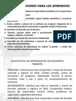 1.6 Reglamento Estudiantil y Comite de Evaluacion