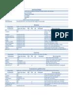 Diccionario de Datos SIGE