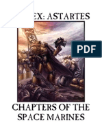 Chapters of the Space Marines v 1.2