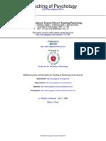 Teaching of Psychology 1990 Fleming 185 7