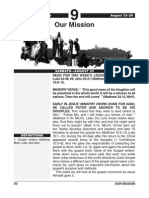 3rd Quarter 2014 Lesson 9 Our Mission Easy Reading Edition