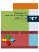 Libro Proyecto Formulación y Evaluación
