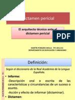 Presentación dictamenes periciales