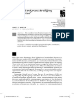 [J. R. Martin] Incongruent and Proud - De-Vilifying _nominalization
