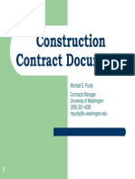 Construction Contract Documents