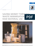 TI-Saving Money Through Waste Minimisation-Raw Materials (GG25)