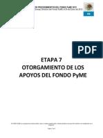Apoyos Fondo Pyme -04 Abril 2013
