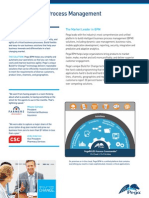 Pega Business Process Management Data Sheet