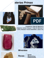 Presentación Lítica (Materias Primas)