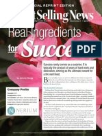nerium dsn article - ingredients for success