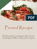 Pinned Recipe