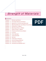Strength of Materials Notes