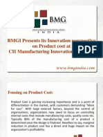 BMGI India presentation on CII MIC (Manufacturing Innovation Conclave) 2014 at Nashik