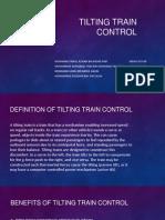 Tilting Train Control