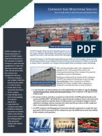 AVANTE - Container Yard Monitoring Services Brochure (Rev. 2.0, 06-2010) Web