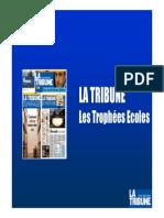 Trophées La Tribune Écoles